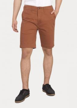 Levi's® 502™true Chino Short - Rich Brown Soft Wash Twill