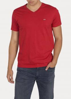 Levi's® Original HouseMark Vneck - Red