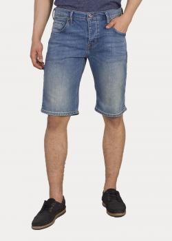 Mustang® 5 - Pocket - Short - 412 Denim Blue