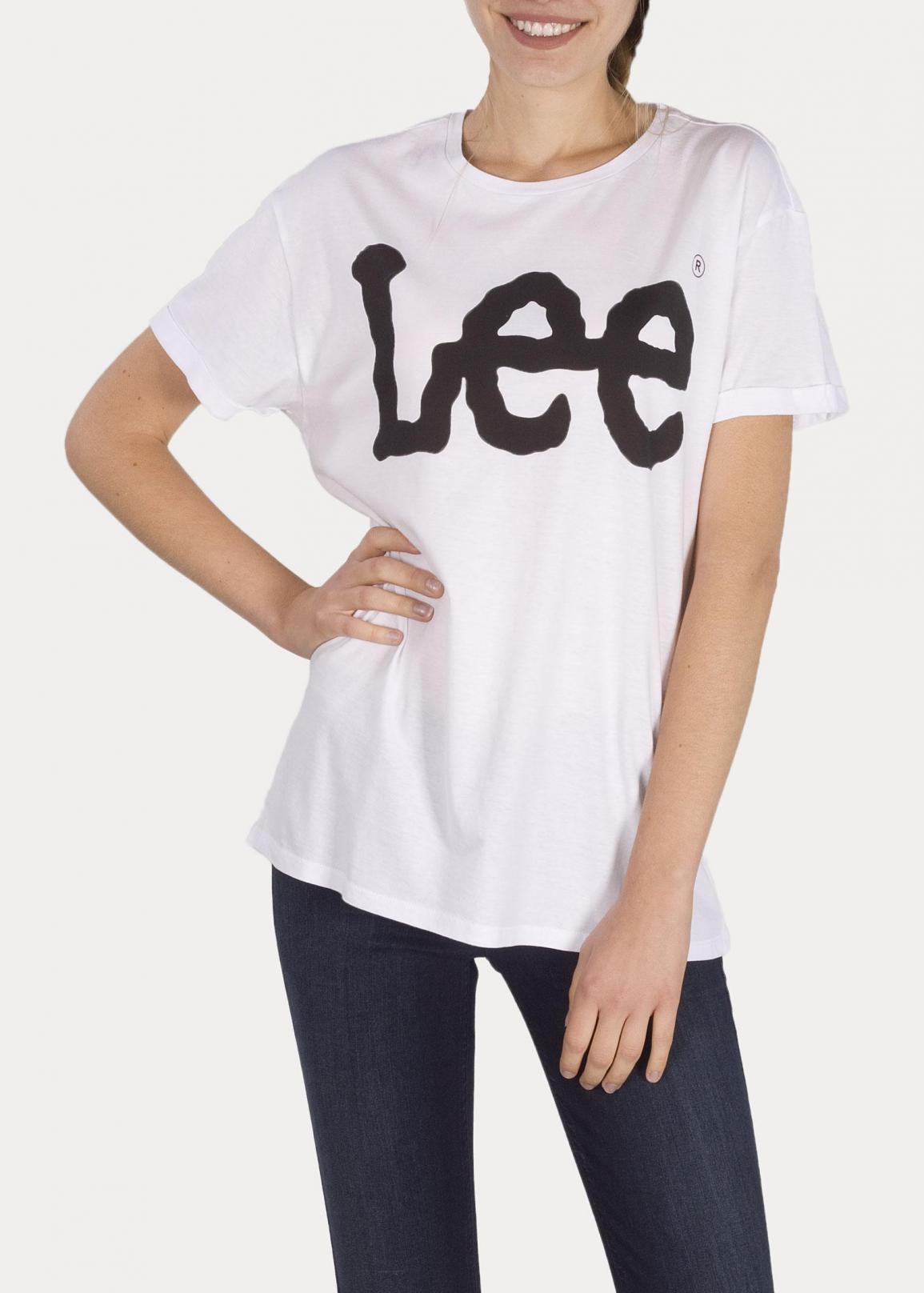 Lee® Logo Tee - White