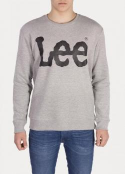 Lee® Logo Sweatshirt - Grey Mele