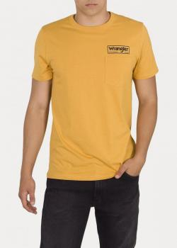 Wrangler® Pocket Tee - Mineral Yellow