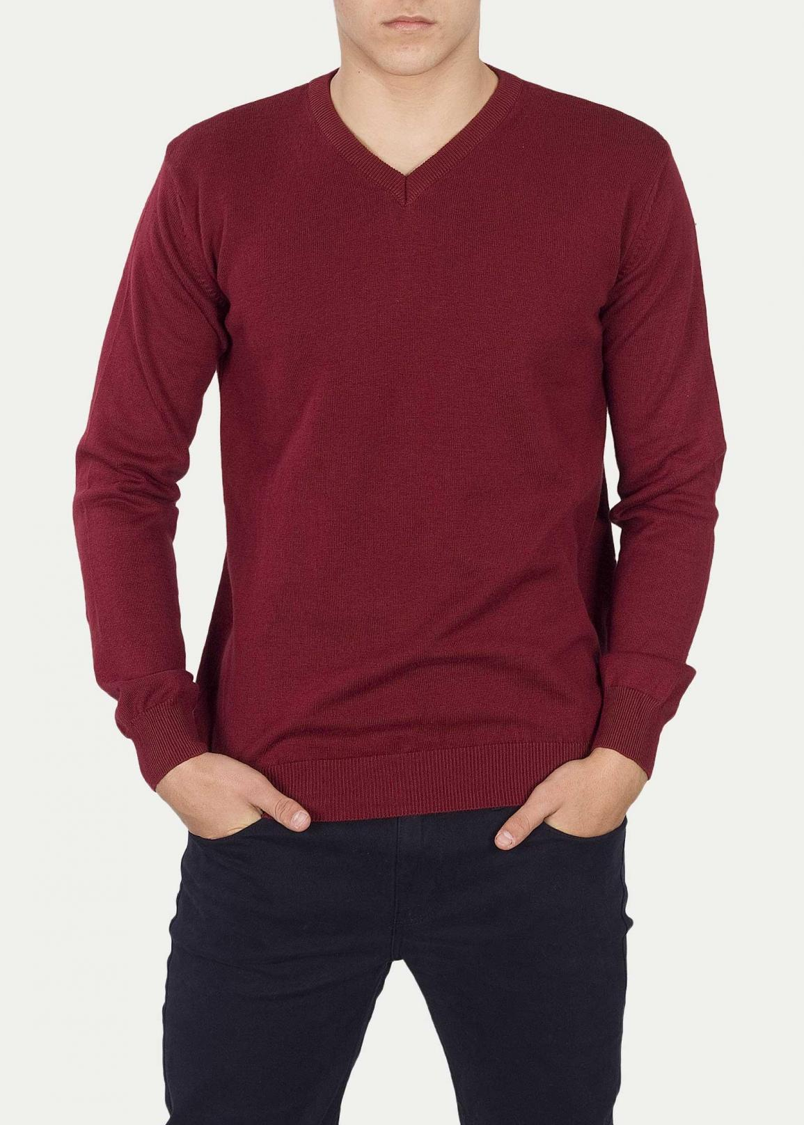 Cross Jeans® Sweter 34157 - Dried Tomato (529)