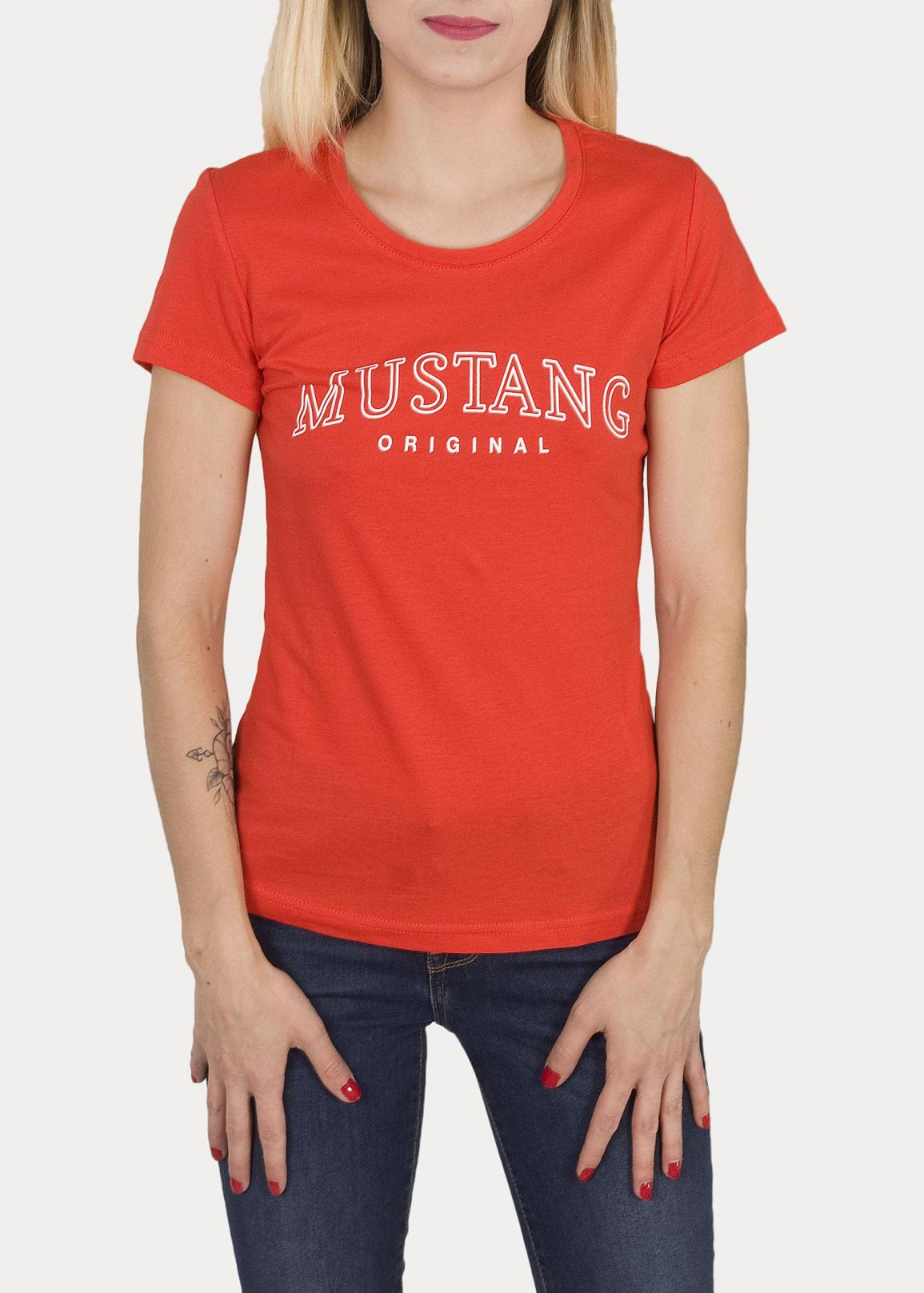 Mustang® Alexia C Print - Fiery Red