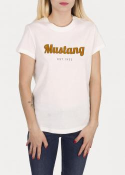 Mustang® Alina C Print - Cloud Dancer