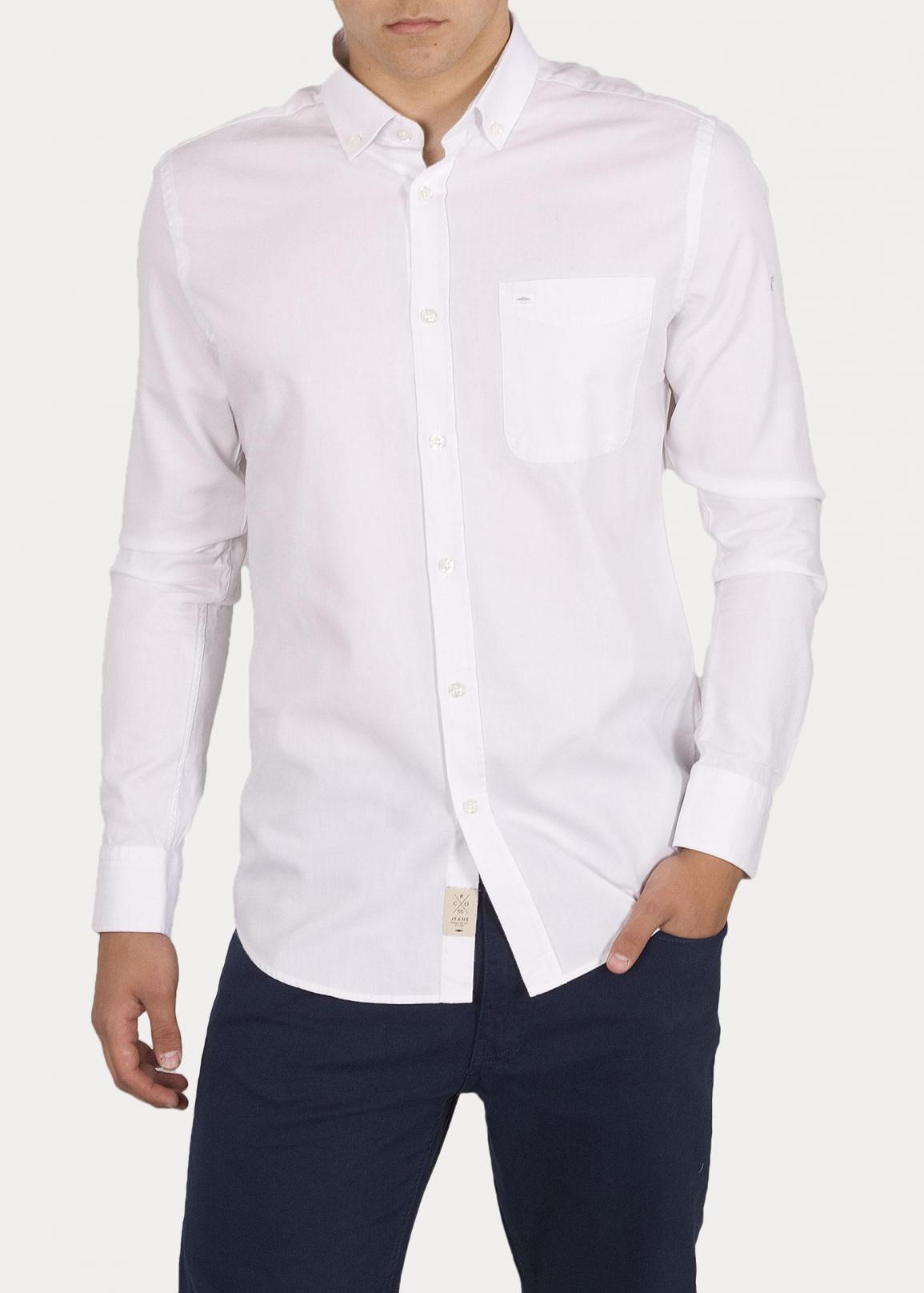 Cross Jeans® Shirt 35253 - White (008)