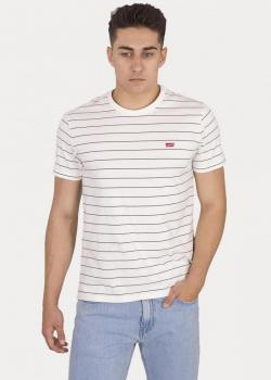 Levi's® The Original Tee - Marshmallow/ Dark Slate