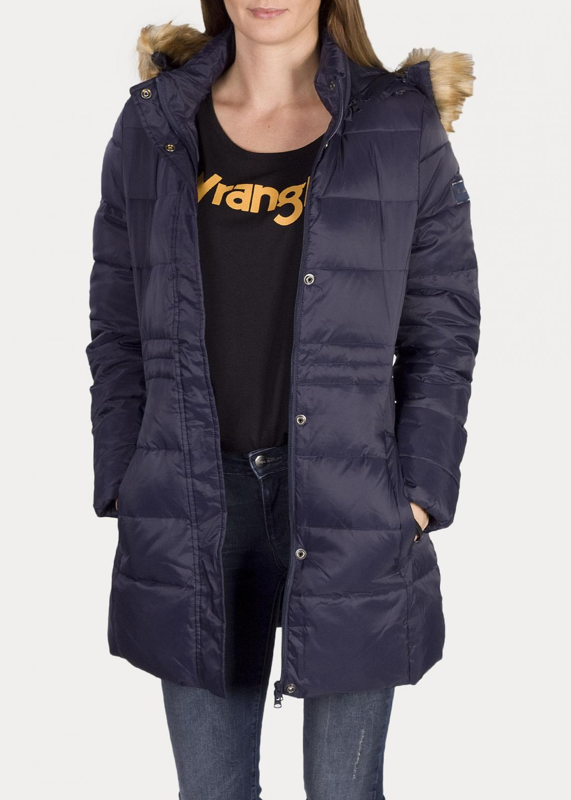 Wrangler® Long Puffer - Navy