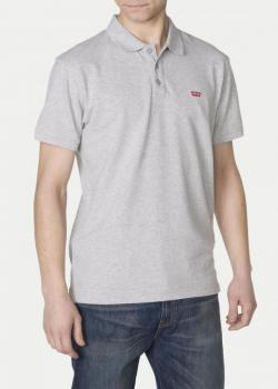 Levi's® Housemark Polo - Medium Grey Heather