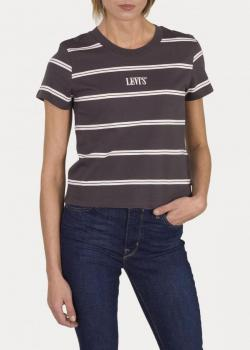 Levi's® Graphic Surf Tee - 90's Serif Tomboy