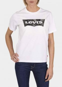 Levi's® Housemark Graphic Tee - Camo White