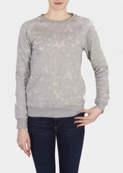 Cross Jeans® Sweatshirt 65148 - Grey Melange (004)