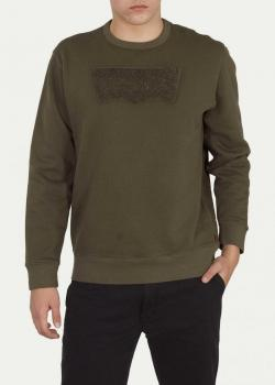 Levi's® Graphic Crew B Needle Hm Needle - Olive Night