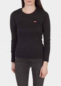 Levi's® Long Sleeve Baby Tee Shirt - Caviar