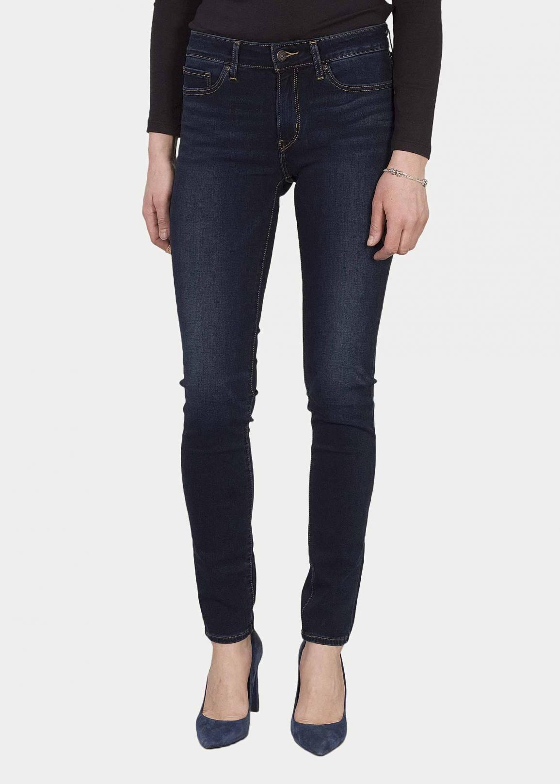 Levi's® 711 Skinny Jeans - Lost At Sea T2