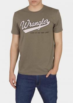 Wrangler® Short Sleeve Live It Tee - Dusty Olive