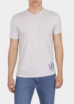 Lee® Branded Tee - Sharp Grey Mele
