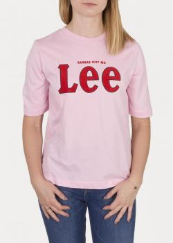 Lee® Tee - Frost Pink