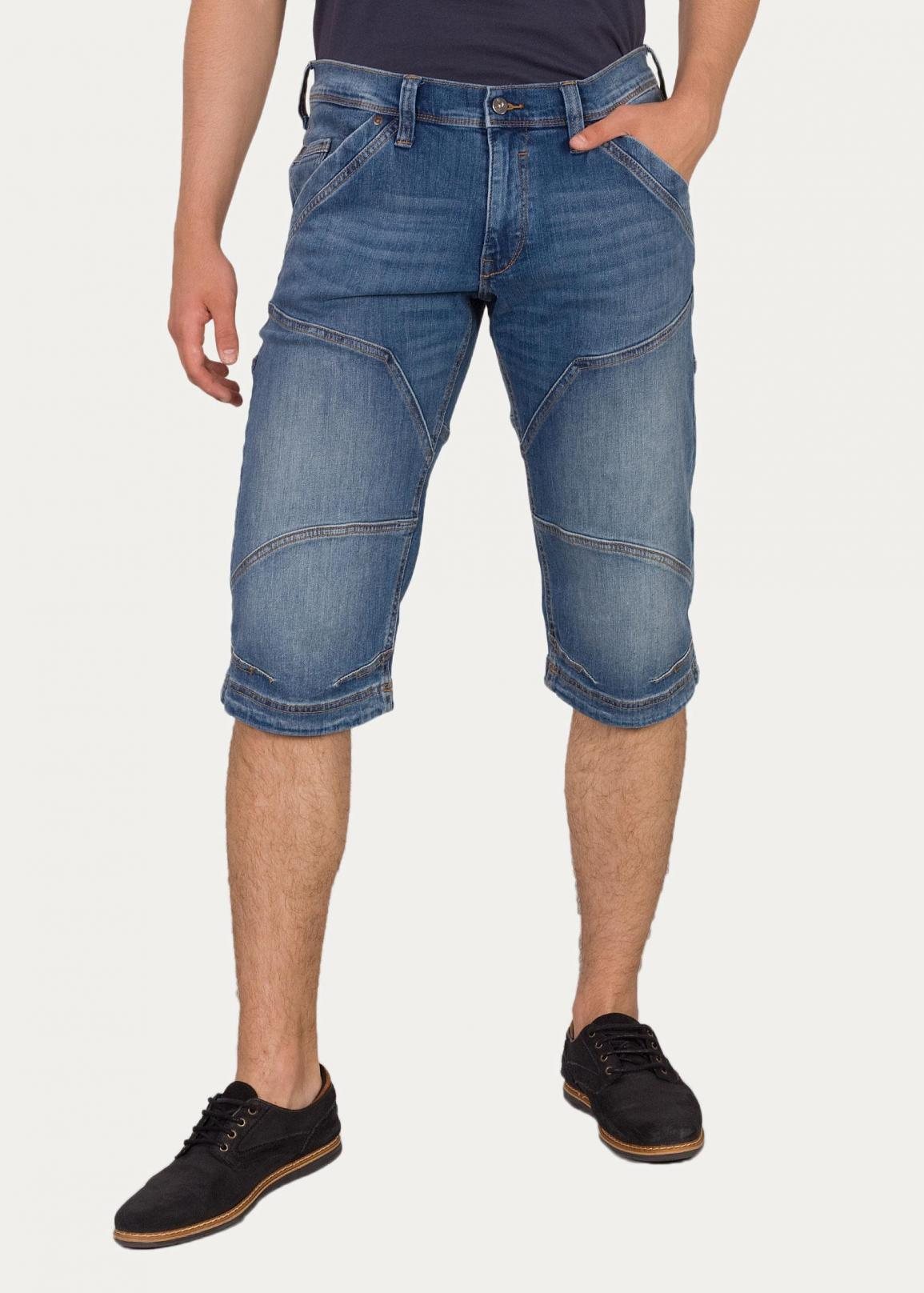Mustang® Fremont Shorts - 410 Denim Blue