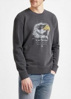 Lee® Eagle Sweatshirt - Washed Black