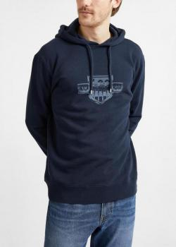 Lee® Seasonal Logo Hoodie - Sky Captain