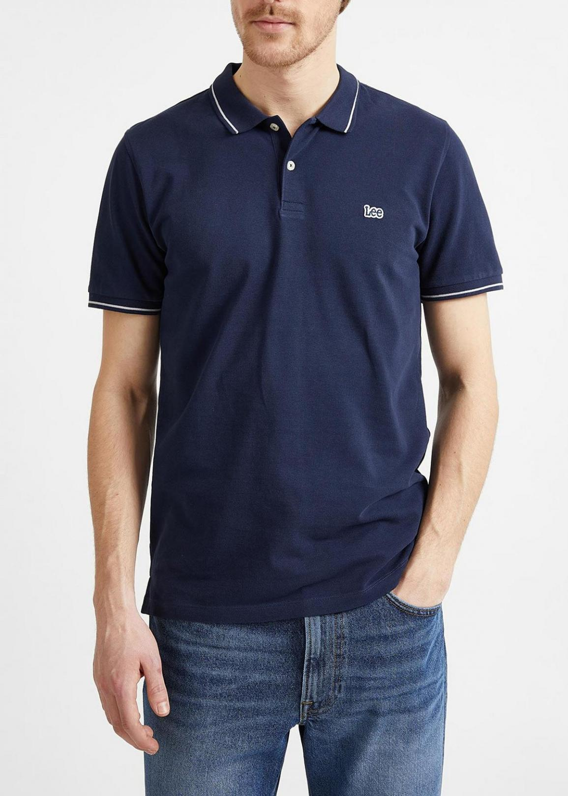 Lee® Pique Polo - Navy