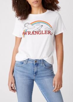 Wrangler® Rainbow Tee - True White