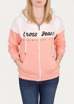 Cross Jeans® Sweatshirt 65177 - Light Pink (203)
