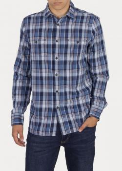 Mustang® Clemens Kc Check - Cornwall Check Blue