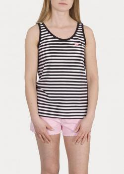 Levi's® Bobbi Tank Top - Mineral Black & White