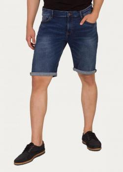Cross Jeans® Leom Shorts - Dark Denim Blue (111)