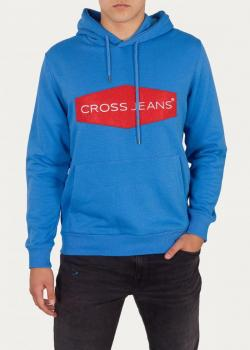 Cross Jeans® Sweatshirt 25212 - Bright Blue (538)