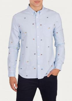 Wrangler® Button Down Shirt - Blue Glow