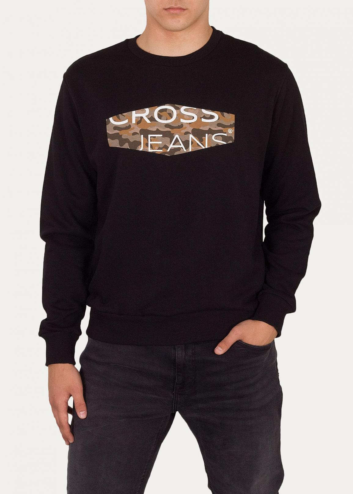 Cross Jeans® Sweatshirt 25215 - Black (020)