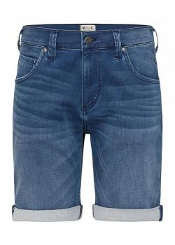 Mustang® 5-Pocket-Shorts - Denim Blue