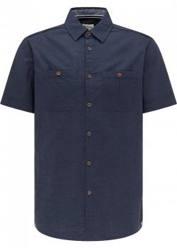 Mustang® Collin Soft Shirt - Blue Nights