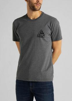 Lee® Tonal Graphic Tee - Gray Mele