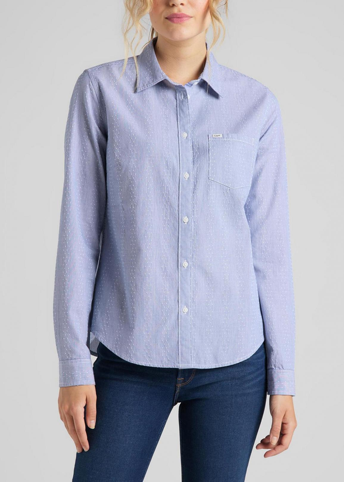 Lee® Regular Shirt - Washed Blue