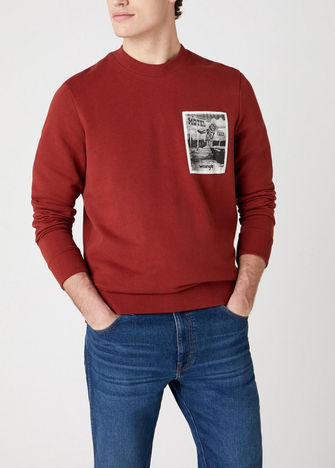 Wrangler® Explorer Sweater - Rusty Brown