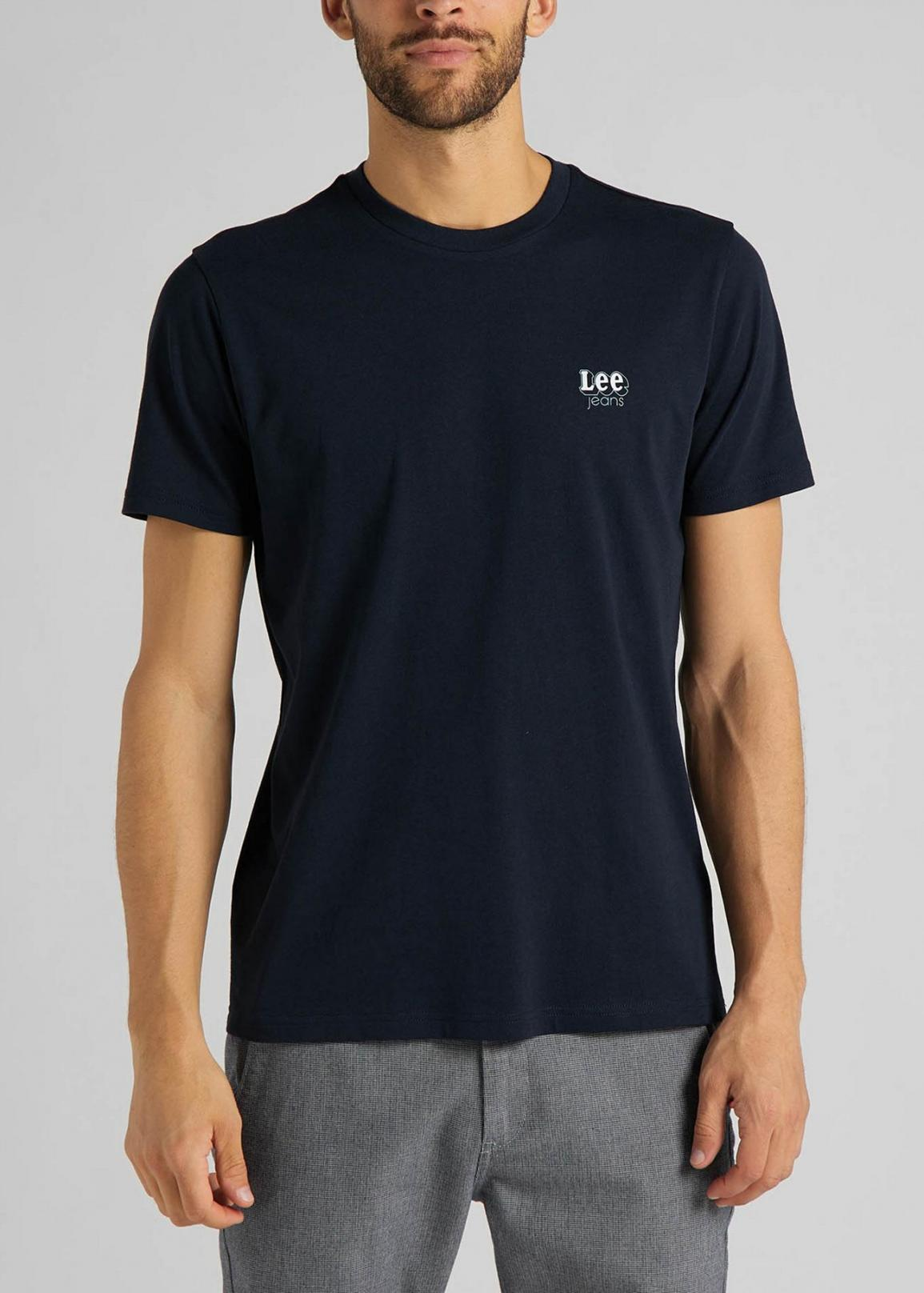 Lee® Small Logo Tee - Sky Captain