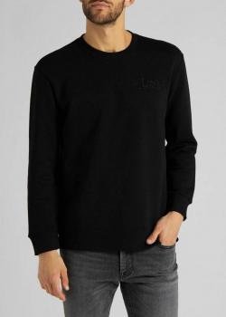 Lee® Refined Applique Sweatshirt - Black