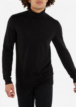 Wrangler® Roll Neck Knit - Black