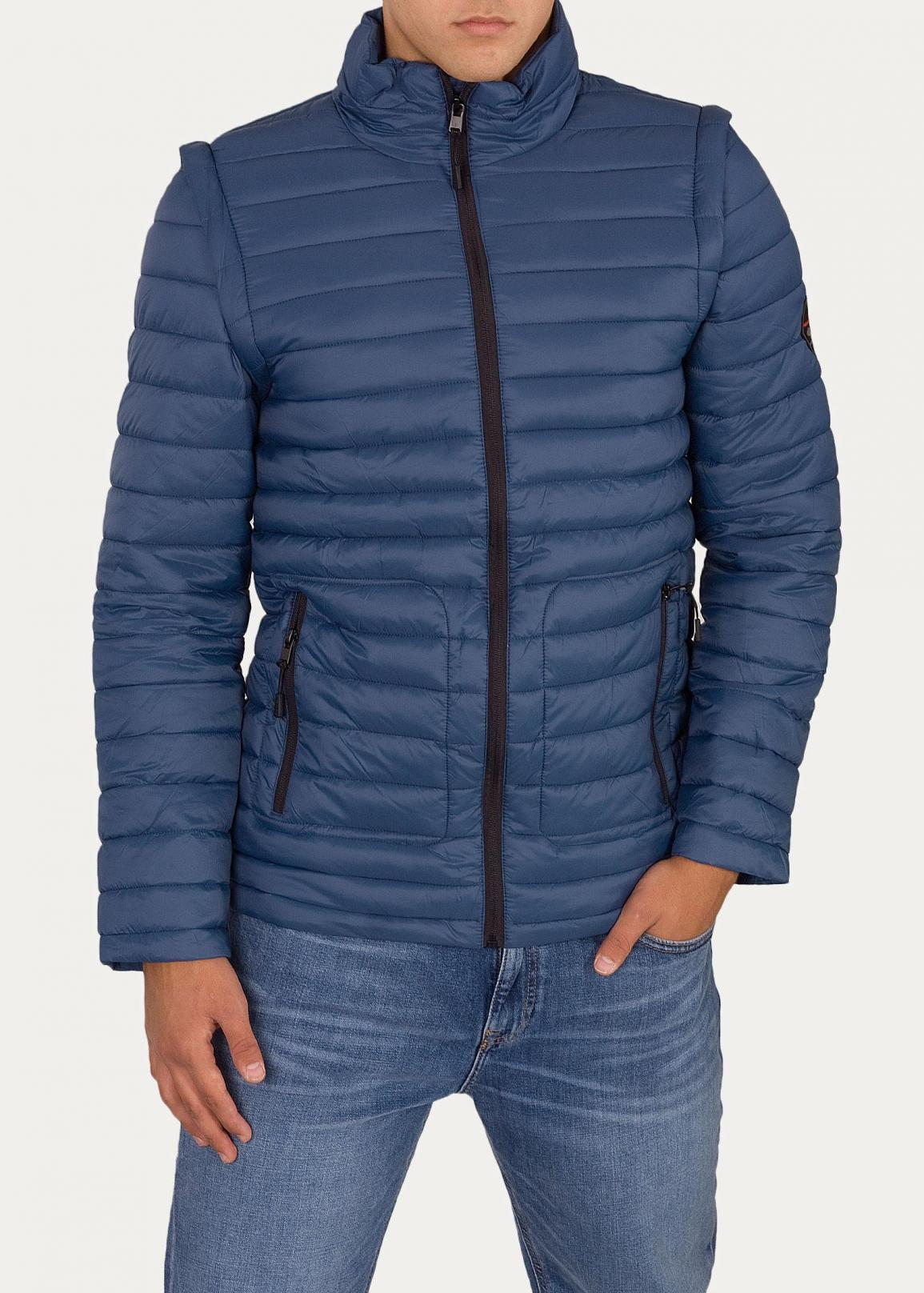 Cross Jeans@ Puffer Jacket - Indigo (005)