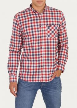 Cross Jeans® 1 Pocket Shirt - Red (007)