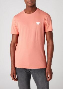 Wrangler® Sign Off Tee - Melon Orange