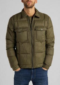Lee® Chetopa Puffer Jacket - Olive Green