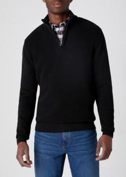 Wrangler® Half Zip Knit - Black