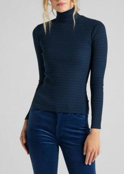 Lee® Long Sleeve Striped Rib Tee - Washed Blue
