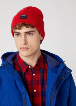 Wrangler® Basic Beanie - Lollipop Red