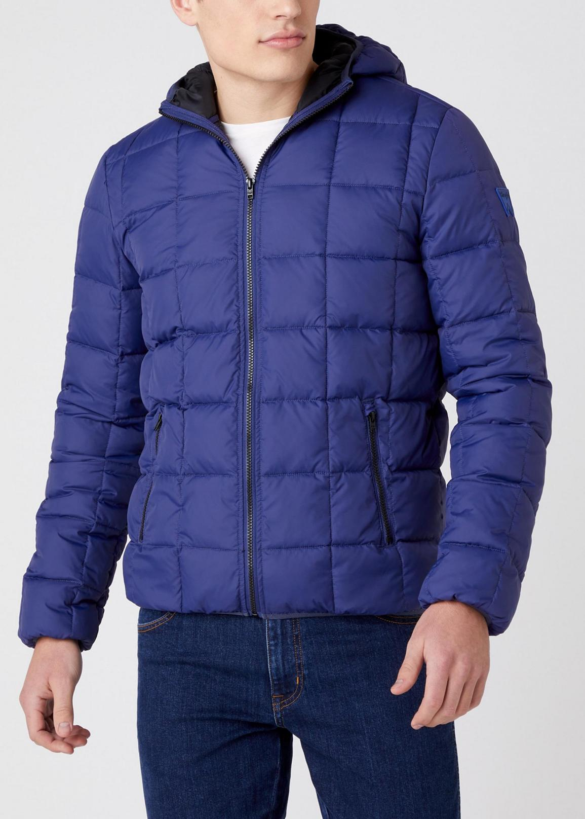 Wrangler® Puffer Jacket - Patriot Blue